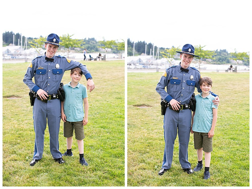 Apollo and Judah at WSP graduation.