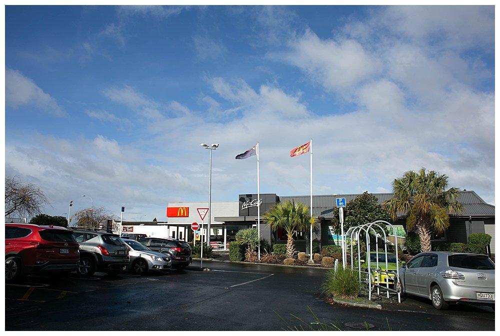 McDonalds in Whangarei New Zealand