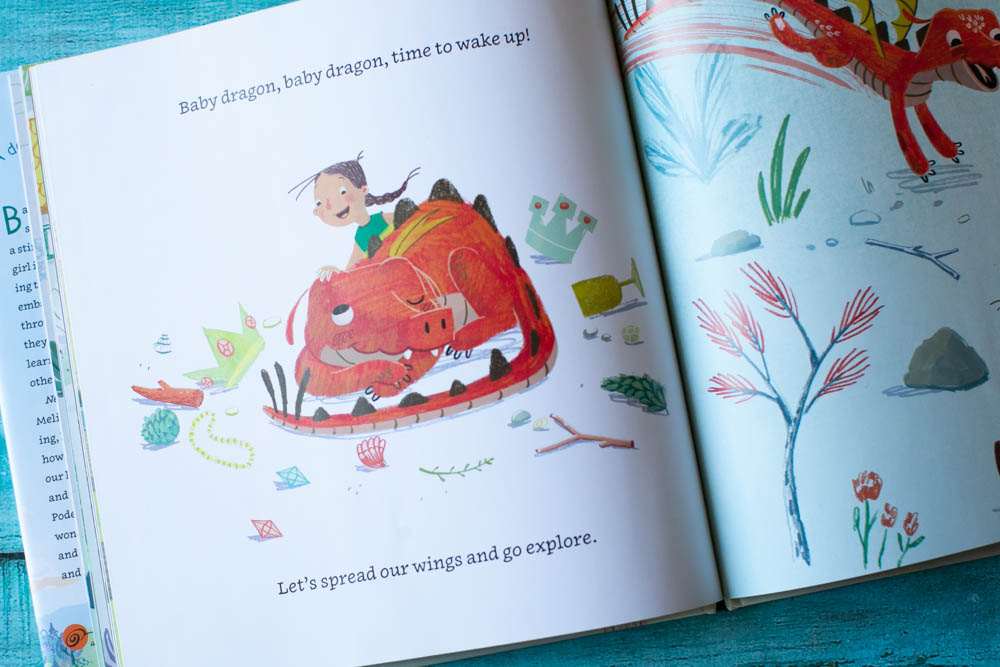Baby Dragon is a fun book about a very active dragon who loves to play all day long.