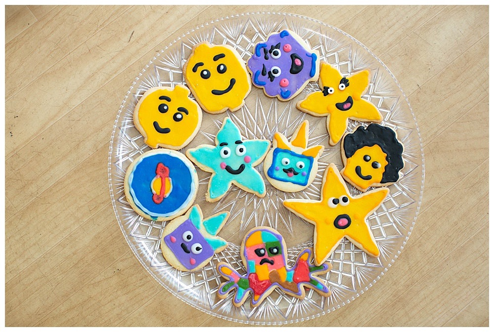 LEGO Movie 2 themed cookies.