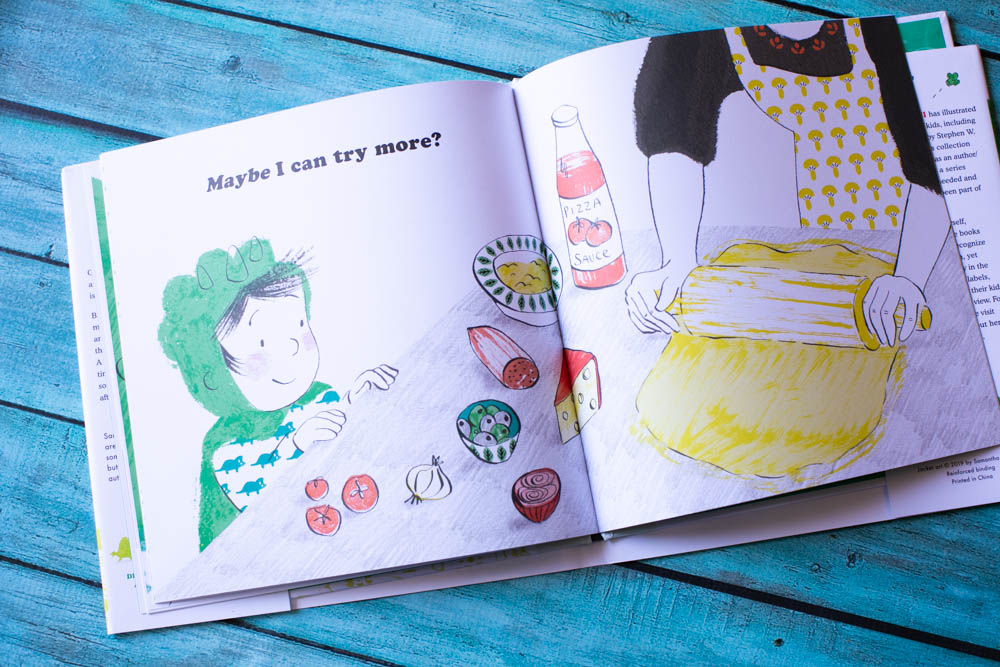 Nope. Never. Not for Me! is a great book for picky eaters or kids with sensory issues.