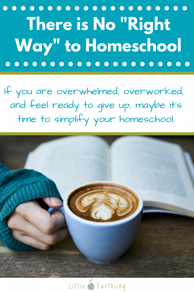 There is no right way to homeschool. Relax, mama, you've got this.