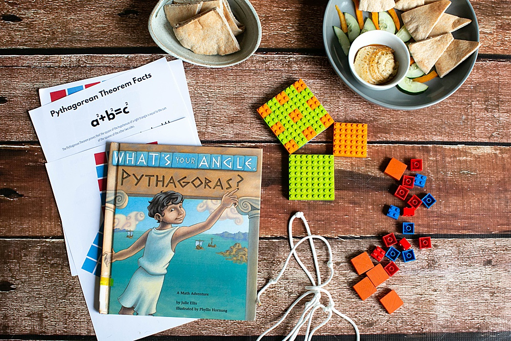 Making math fun through book-inspired. hands-on STEM projects. What's Your Angle Pythagoras?