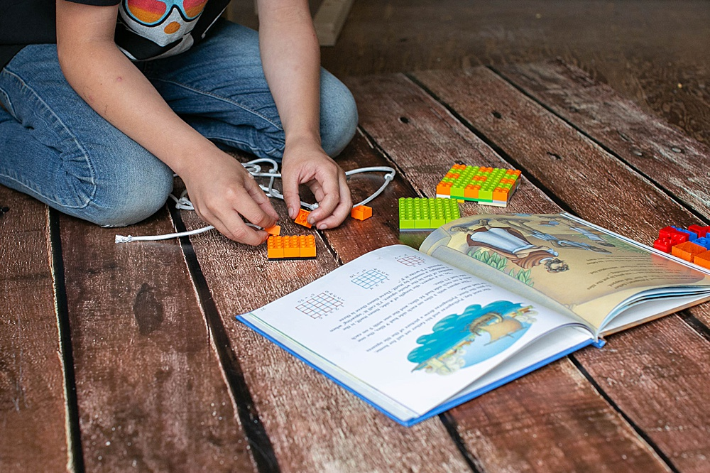 Fun LEGO STEM activities. Pythagorean Theorem​ Proof for Kids