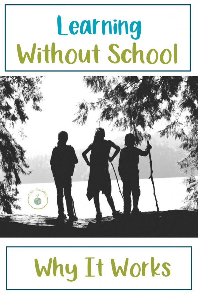 How and why learning without school works so well. Written by a large family mom with 14 kids.