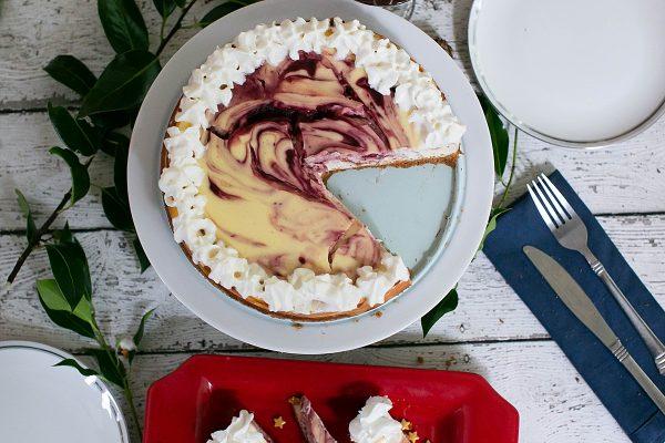 Cranberry Orange Cheesecake Recipe.