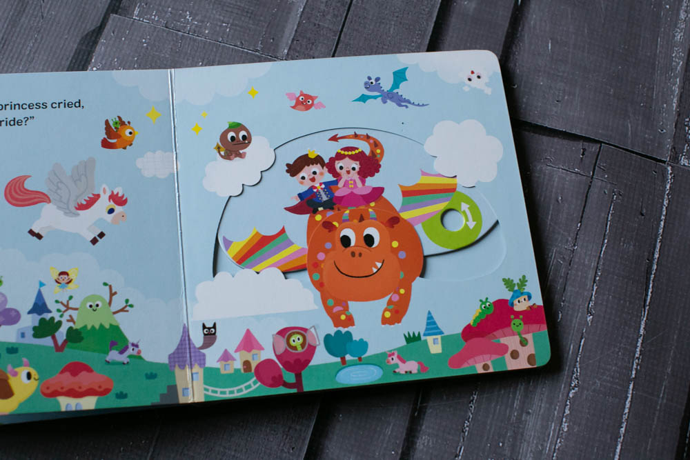 My Magical Dragon is a fun dragon book for toddlers.