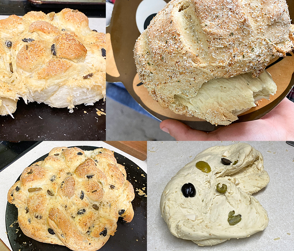 Culinary Reactions has my boys enthusiastically baking bread...with no recipe!