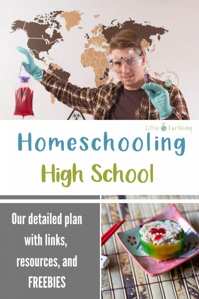 Homeschooling in the older years.