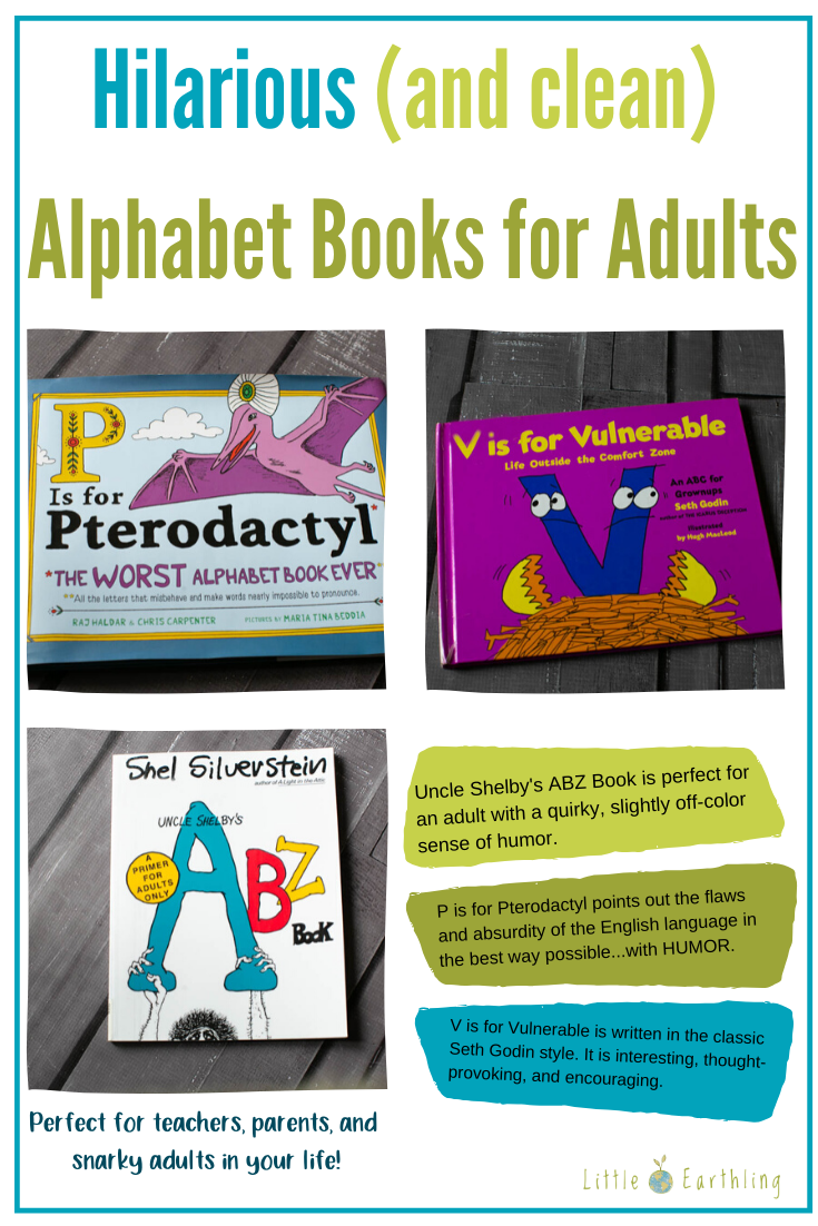Hilarious and Clean Alphabet Books for Adults