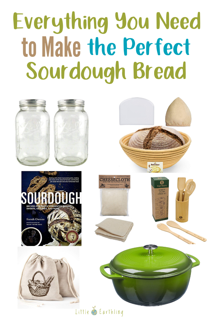 Everything you need to make the perfect sourdough bread.
