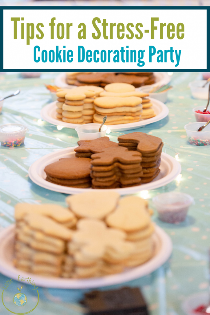 Tips for a Stress-Free Cookie Decorating Party