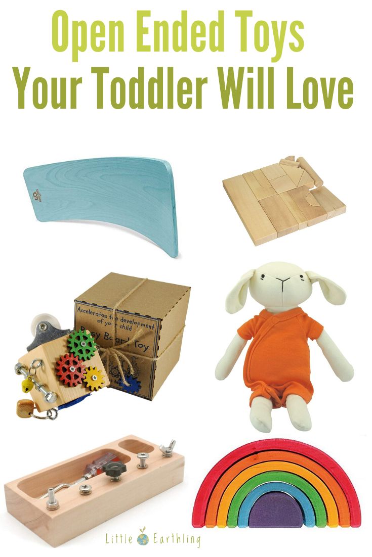 Open Ended Toys Your Toddler Will Love