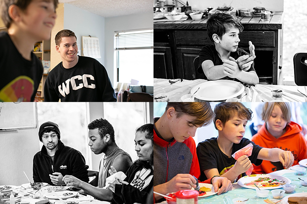 We had a great time at our annual cookie decorating party.