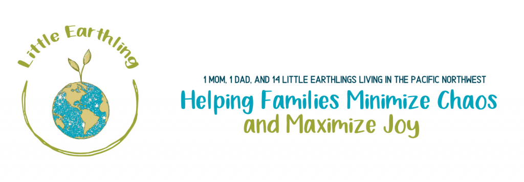 Large Family Blog: Helping famlies minimize clutter and mazimize joy.