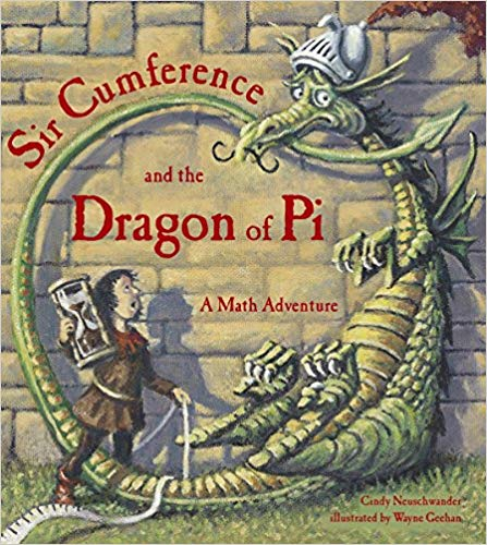 Sir Cumference and the Dragon of Pi will teach your kids math while making them love math too!