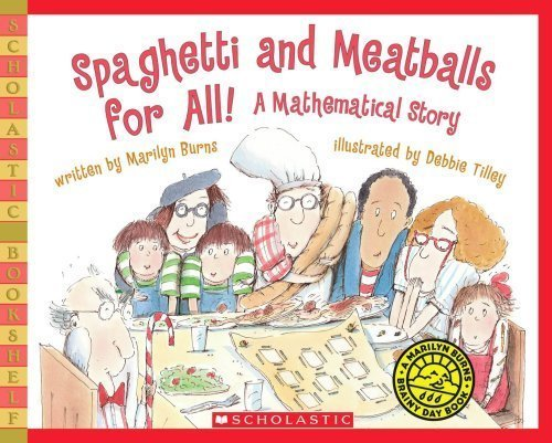 Spaghetti and Meatballs for All teaching kids about geometry and fractions.