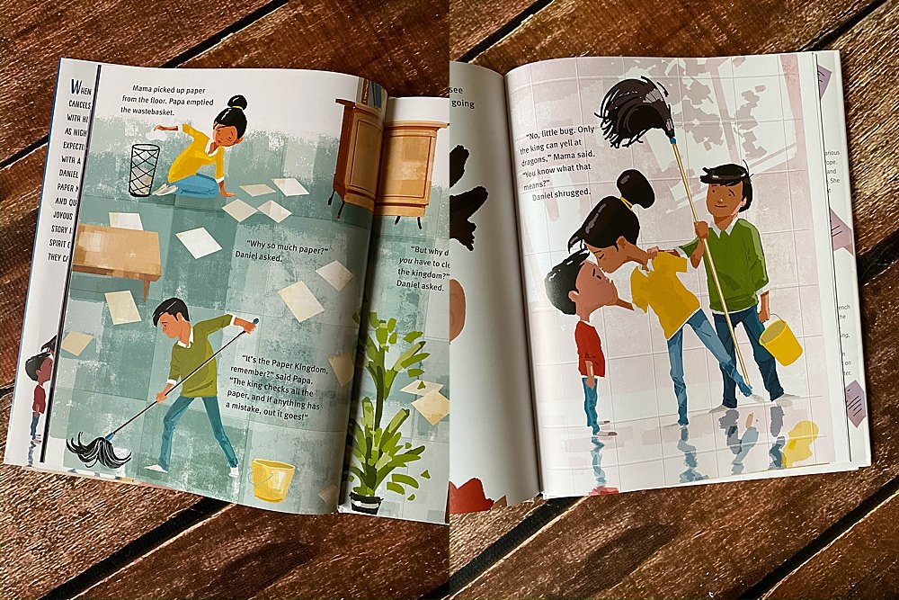 The Paper Kingdom is a story of immigrant parents working hard to provide for their family.
