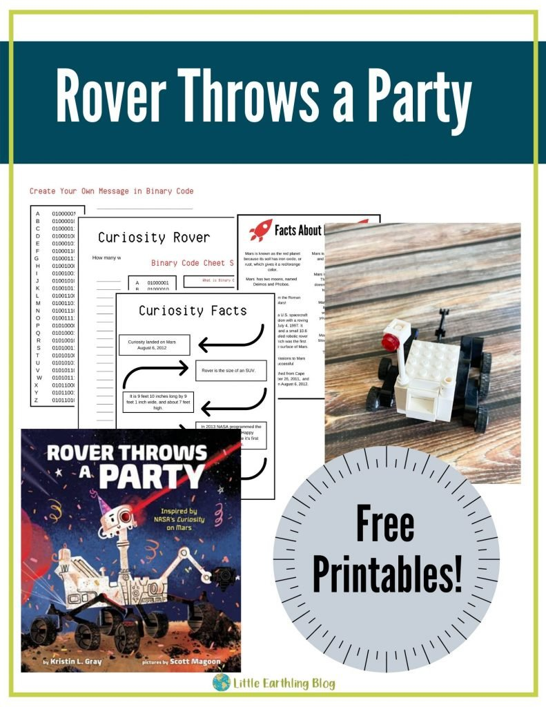 Rover Throws a Party Printables and Activities.