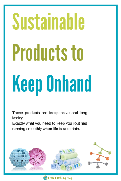 Sustainable products to keep your home running smoothly.