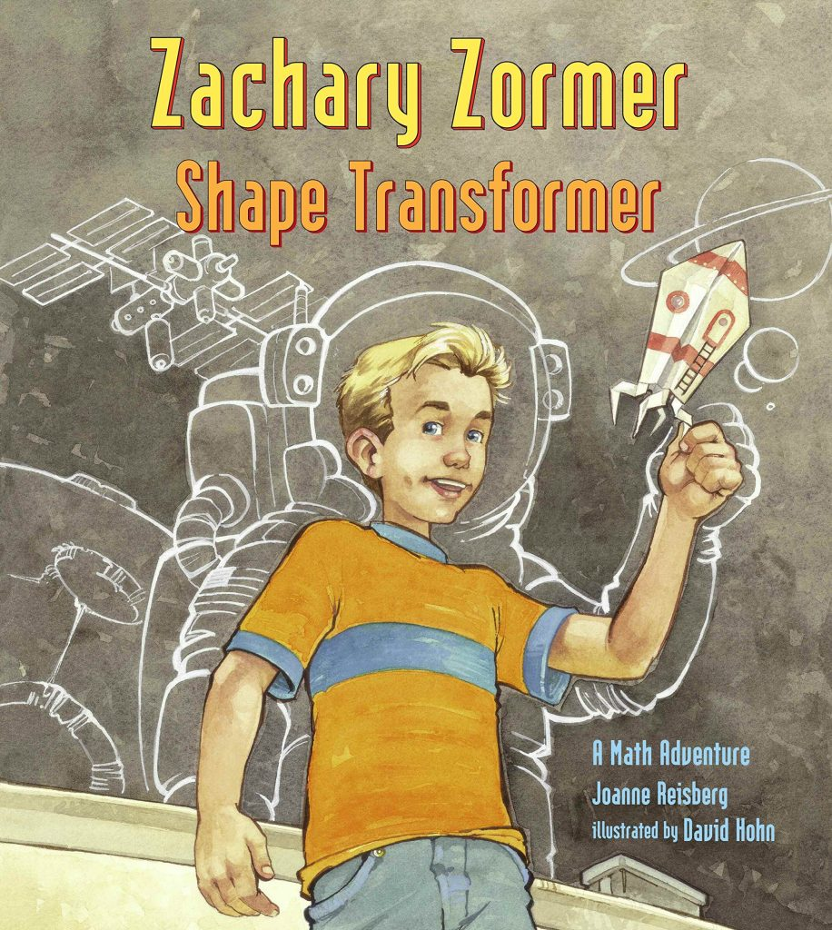 Zachary Zormer Shape Transformer is a great book to read during your tessellation unit study.
