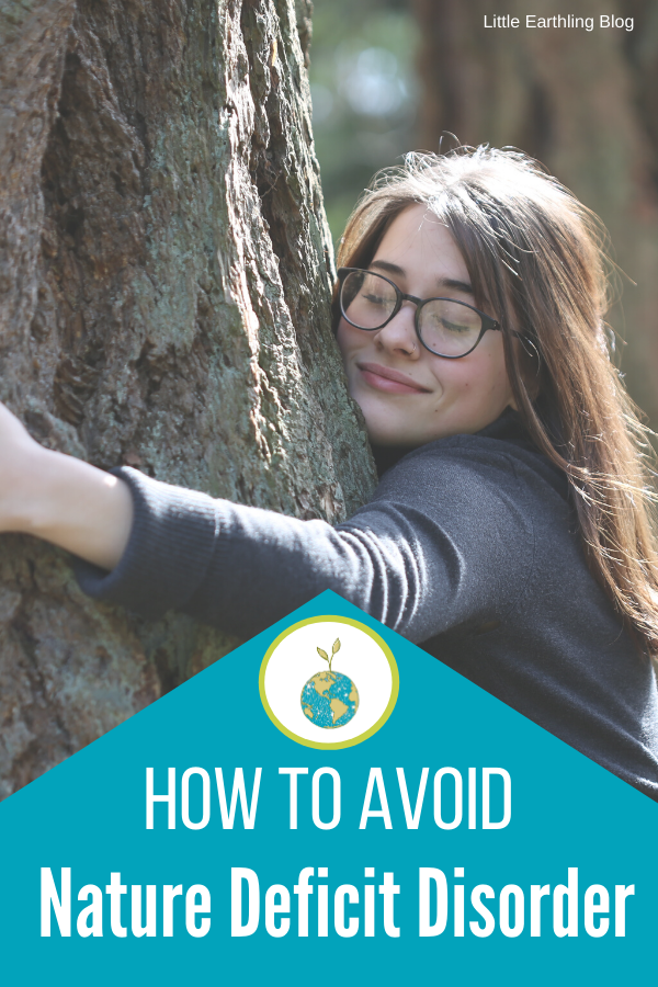 How to avoide nature-deficit disorder with our kids.