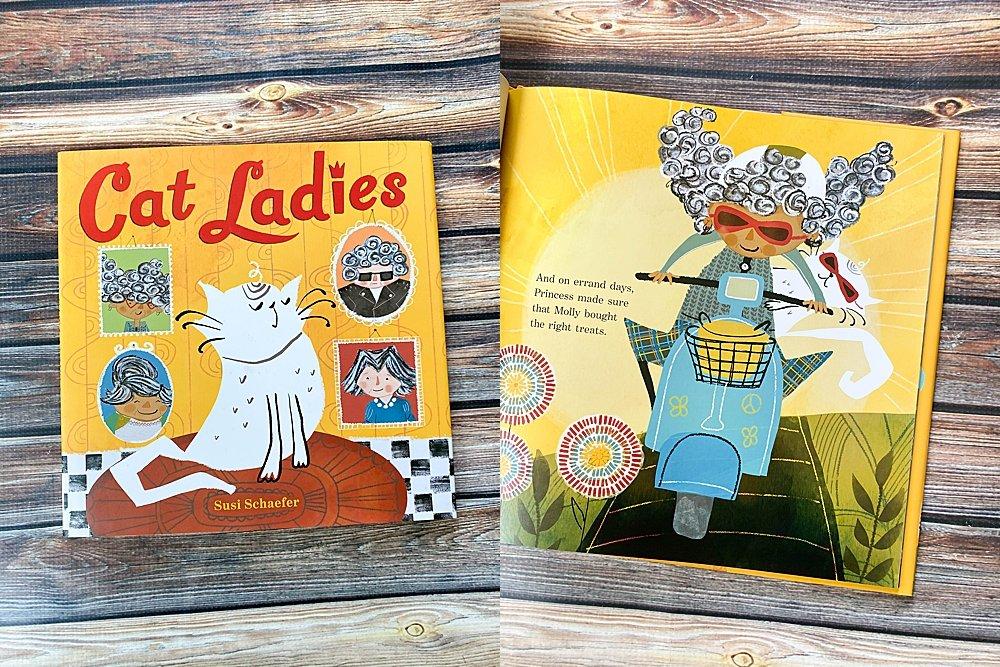 Cat Ladies book review.