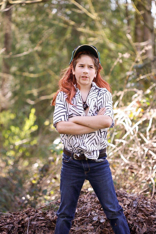 9-year-old boy dressed as Joe Exotic in Tiger King parody.