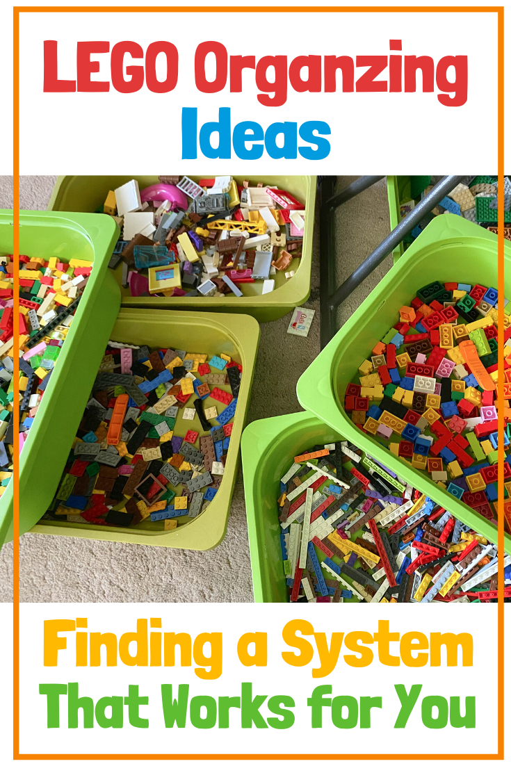 LEGO organizing ideas: finding a system that works for you.