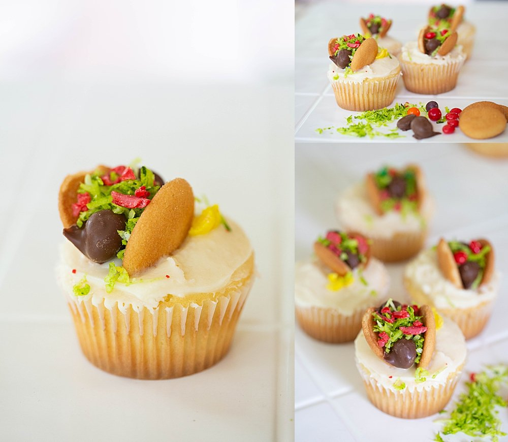 These fun taco cupcakes are part of the All About Tacos Unit Studay.