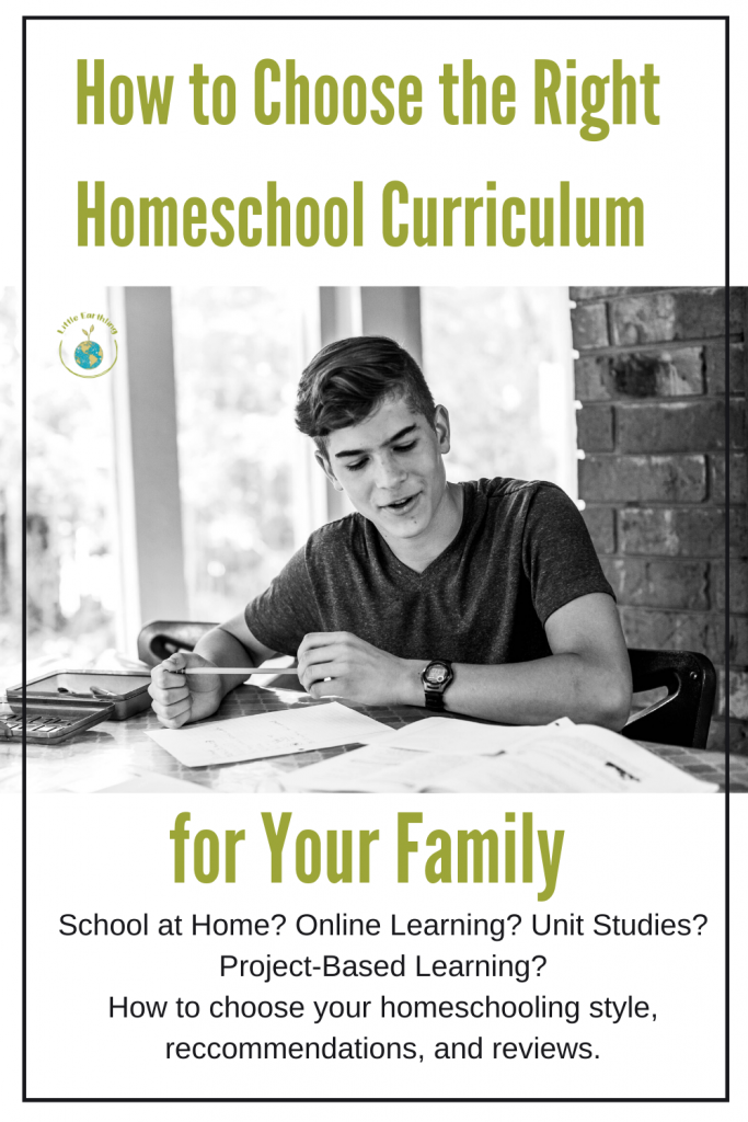 How to choose the homeschool curriculum that is right for your family.