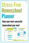 This homeschool planner will help you plan your homeschool year stress-free!