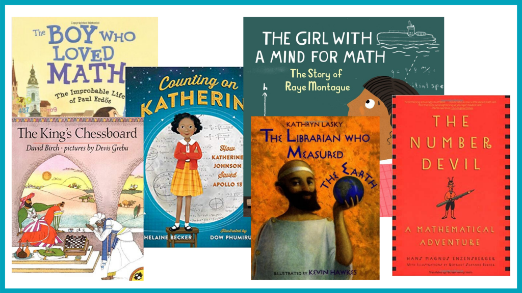 Building a quality math library can help your kids love math.
