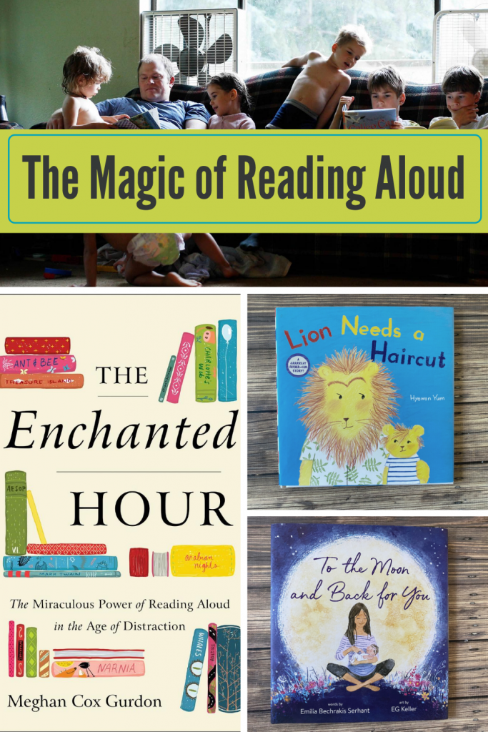 The Magic of Reading Aloud in Families. Enchanted Hour review.