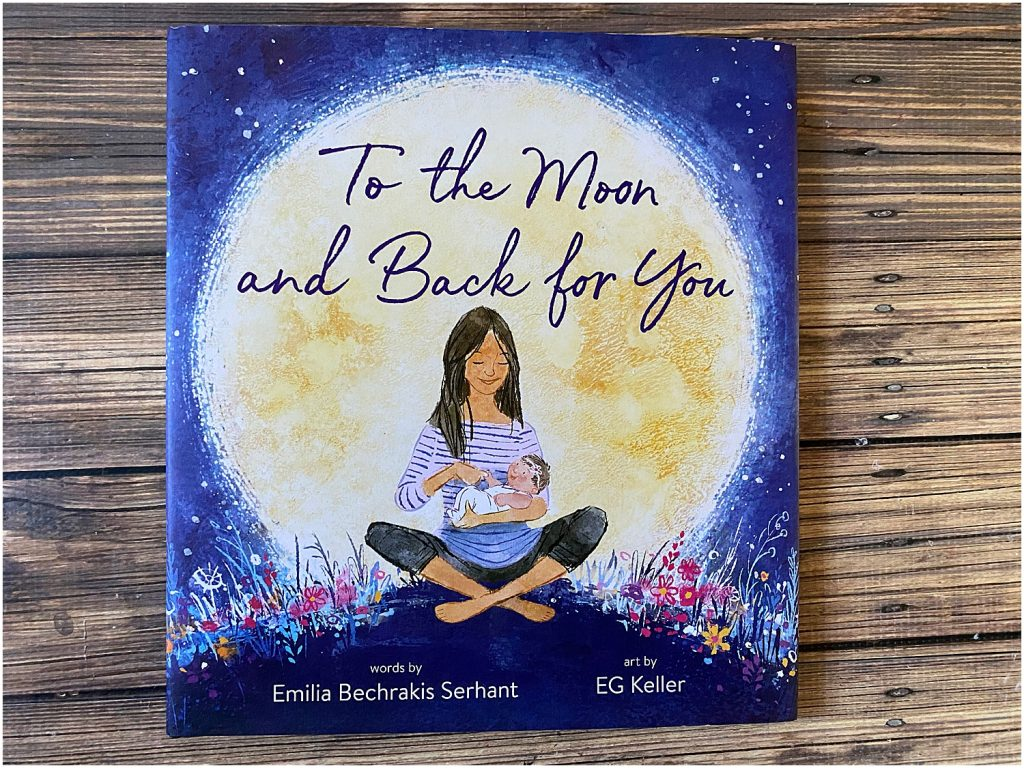 To the Moon and Back for You is a heartwarming book about infertility.
