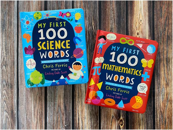 Awesome STEM books for babies and toddlers.
