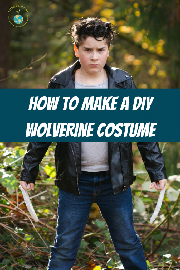 How to make a fabulous Wolverine costume.