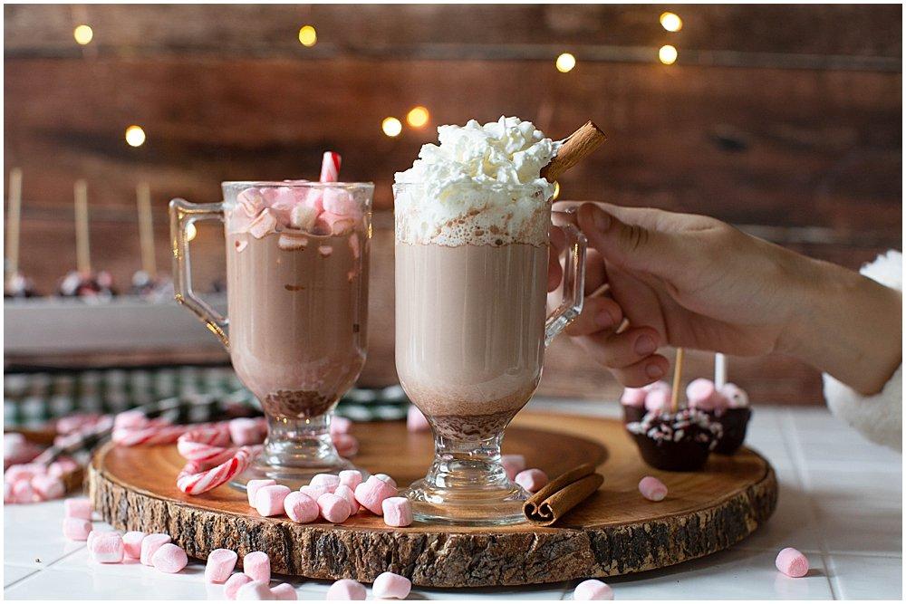 Hot chocolate on a stick recipe.
