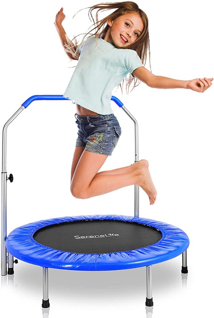 Indoor trampoline for kids with too much engergy.