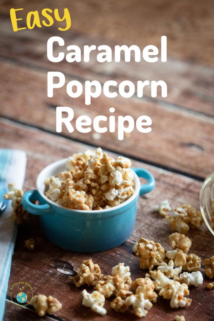 Easy Caramel Popcorn Recipe