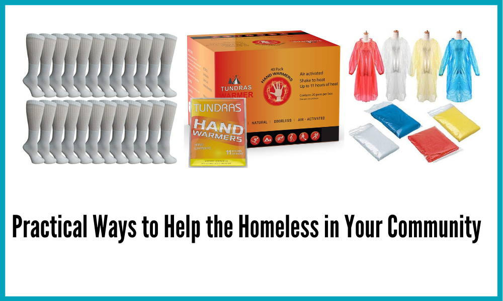 Practical Way to Help the Homeless in Your Community