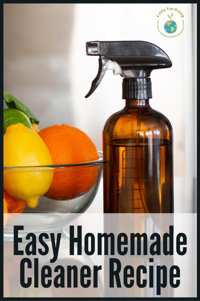 AMAZINGLY Easy homemade cleaner.