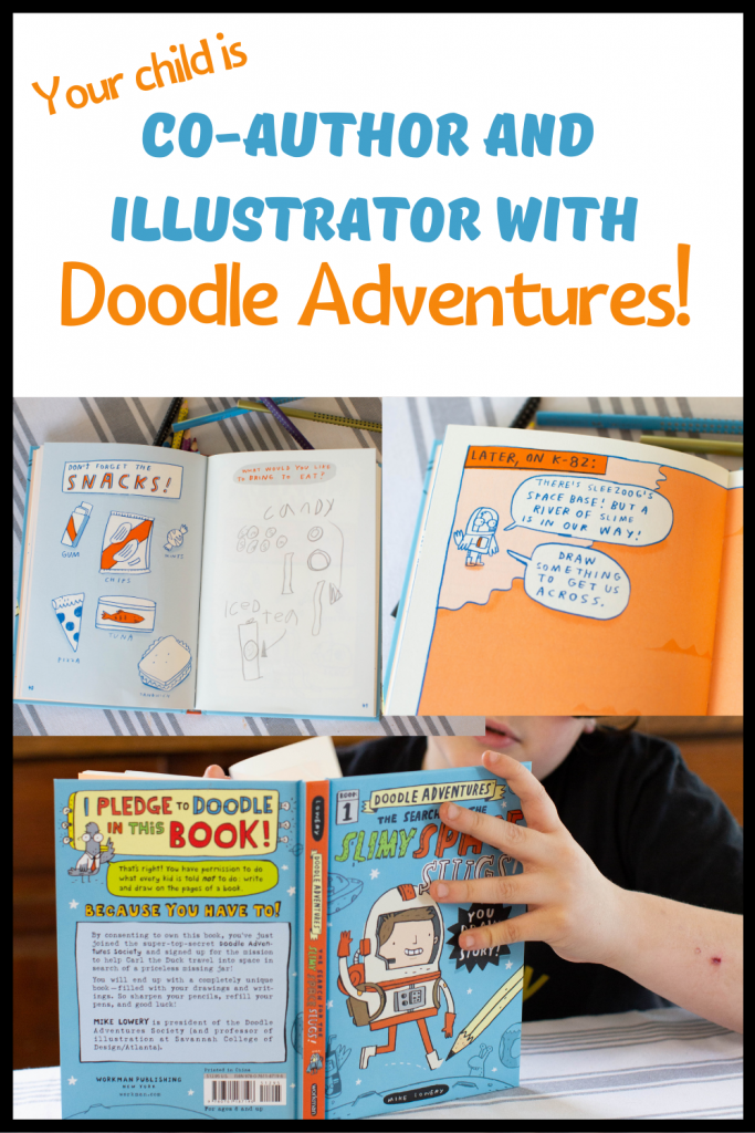 Your child becomes author and illustrator with Doodle Adventures