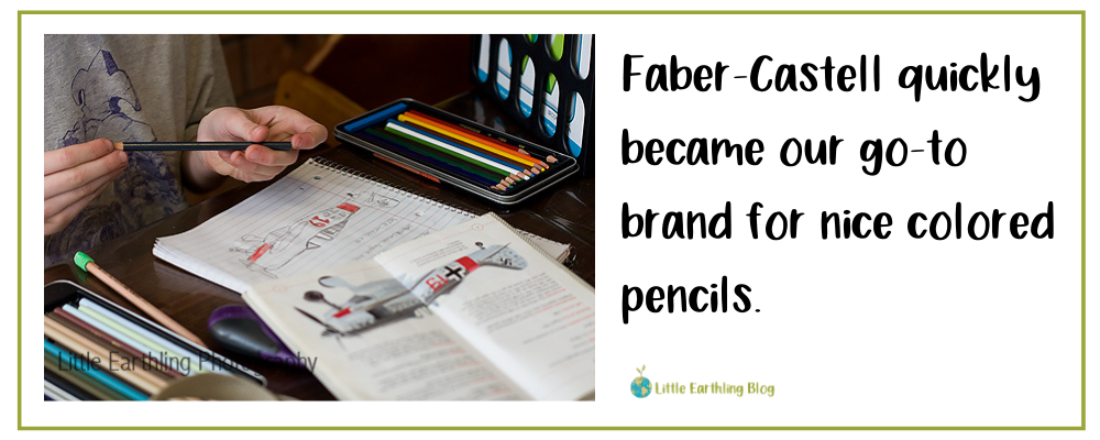 Faber-Castell colored pencils are perfect for budding artists.