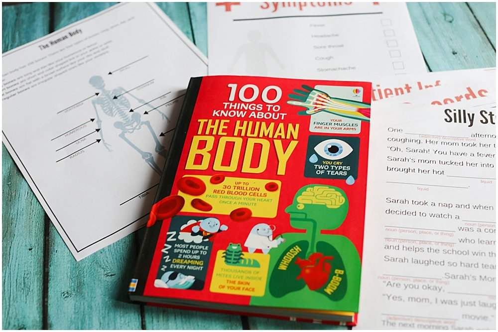 100 Things to Know About the Human Body- Usborne Books Review