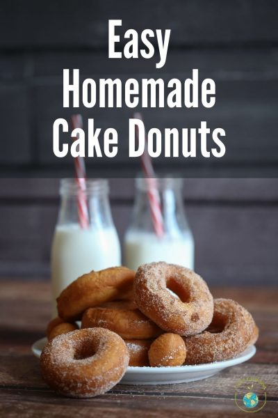 Easy Homemade Cake Donut Recipe