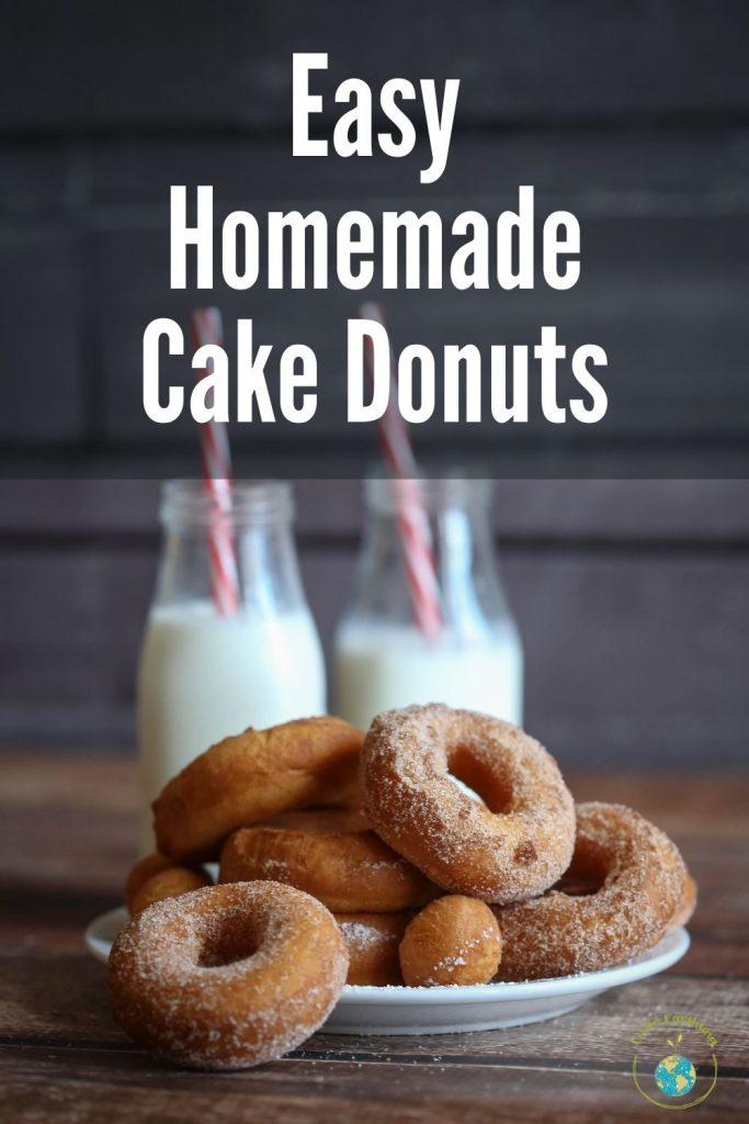 Easy Homemade Cake Donut Recipe