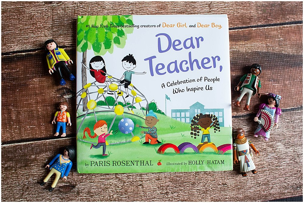 Dear Teacher is a beautiful tribute to the hardworking people who support our children.