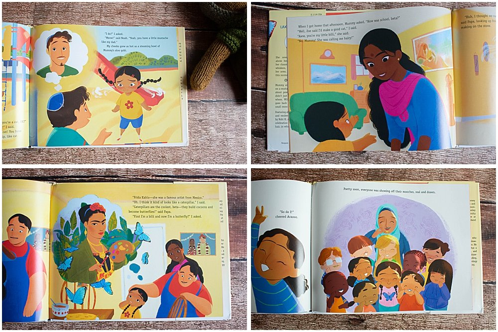 Laxmi's mooch is a beautiful story of diversity and self-acceptance.