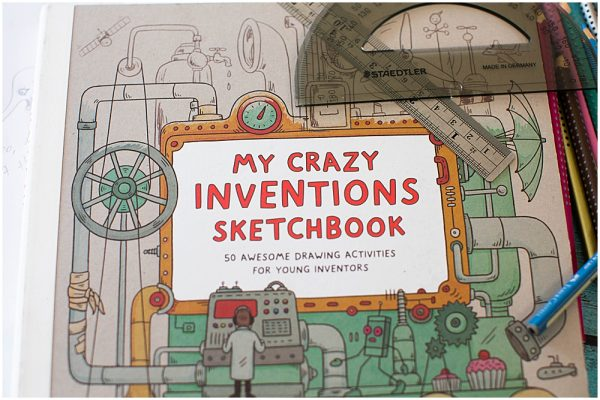 My Crazy Inventions Sketchbook review.